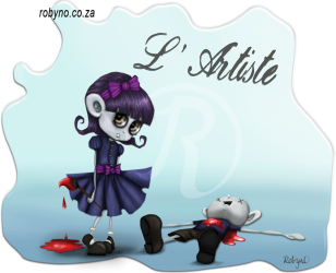 Macabre Little Girl artist Graphic for print on T shirts and merchandise