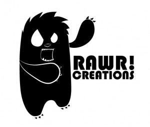 Logo Design for Rawr Creations