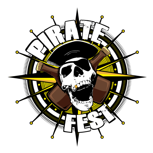 Pirate Fest Logo Design