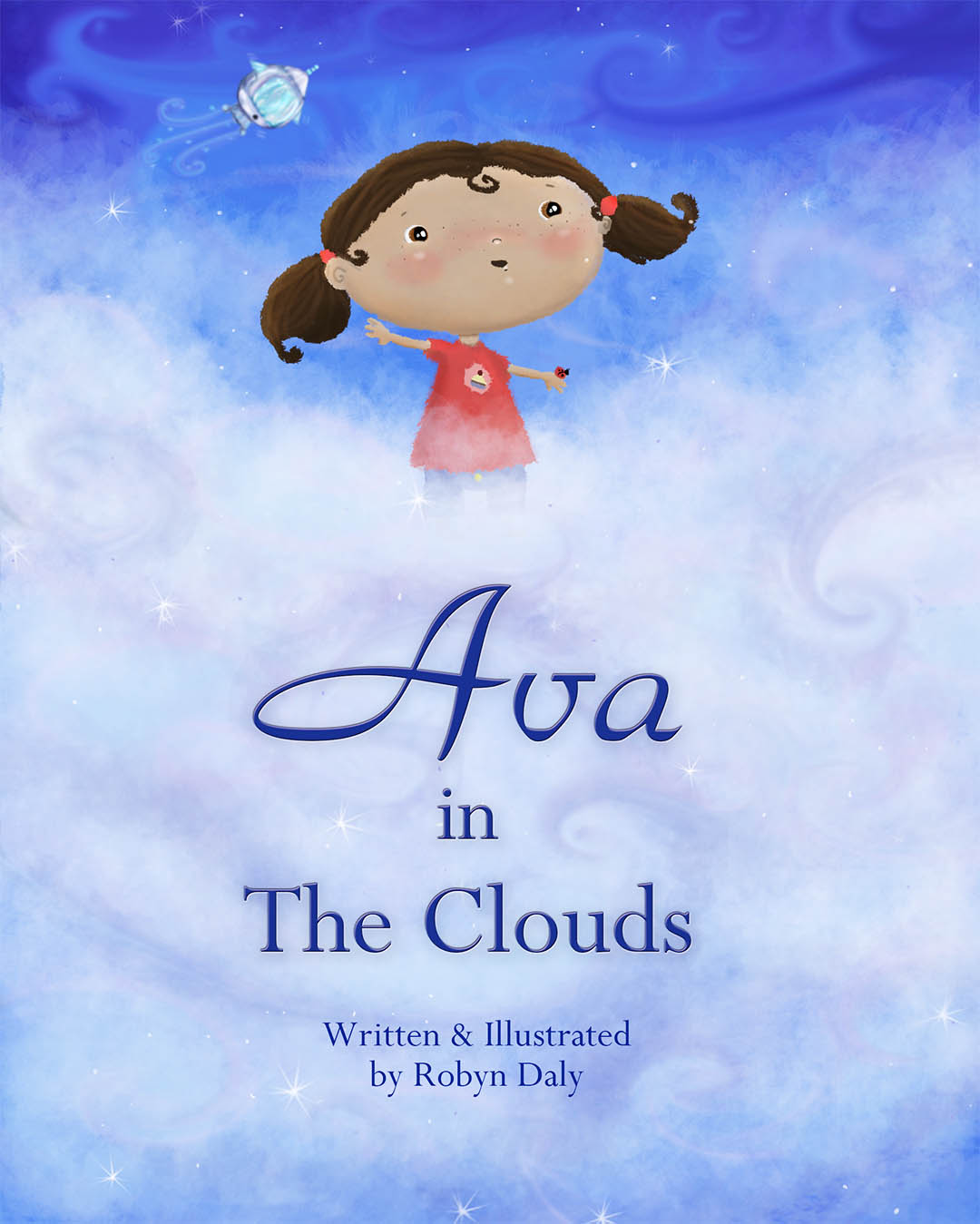Ava in the Clouds